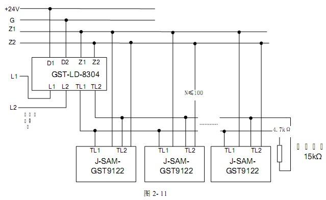消防强排烟风机接线图与消防排烟风机的接线法